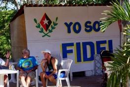 Yo Soy Fidel in Havana, Cuba.