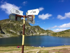 Have a good trail map or guide when hiking Rila's Seven Lakes.