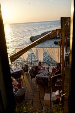 Dinner at La Puntalina.