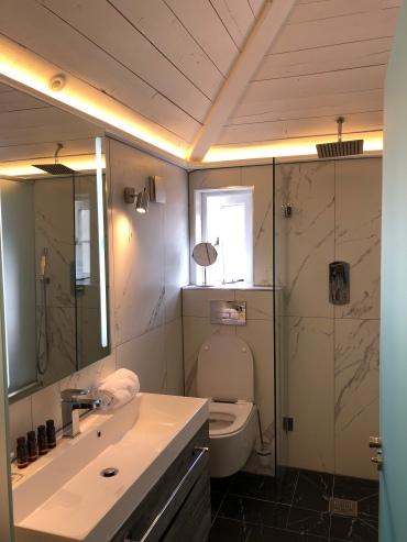 Sleek wet shower room #6, Beckett's Southsea
